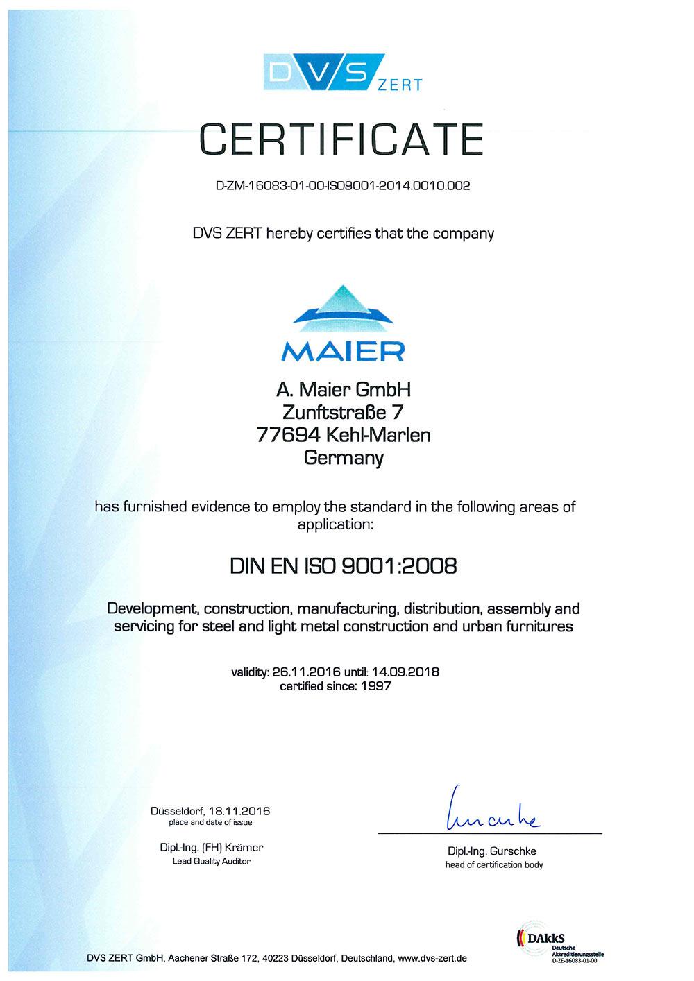 Zertifikat_9001__A_Maier_GmbH_bis_09_2018-1_Seite2