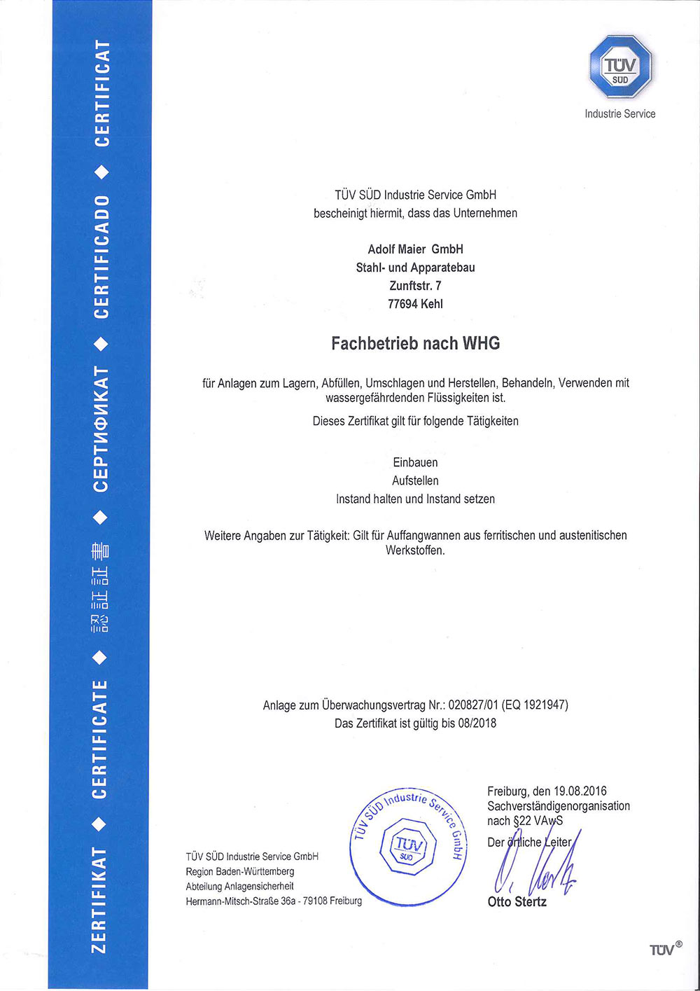Zertifikat_WHG__A_Maier_GmbH_bis_08_2018